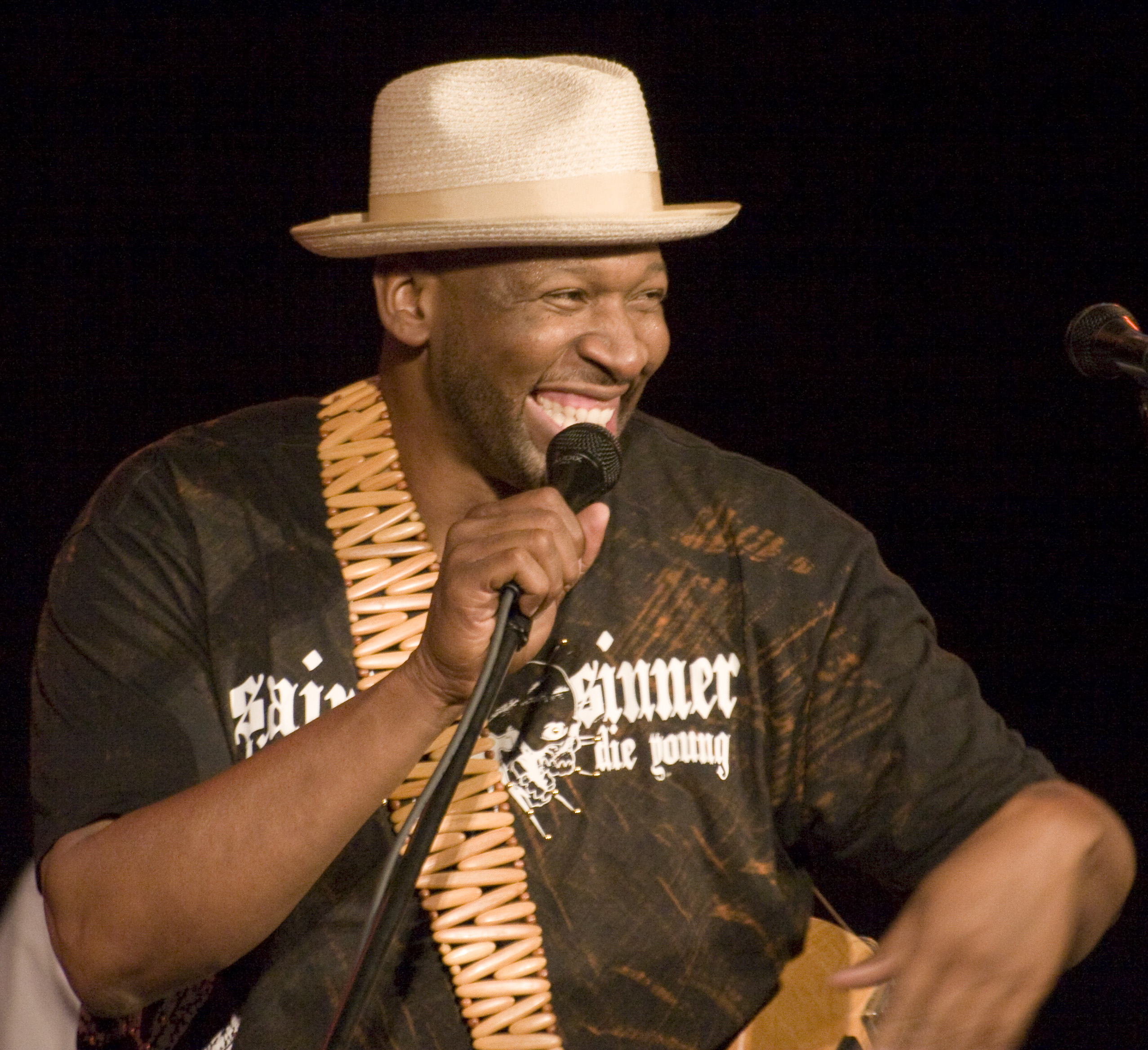 Wayman Tisdale Itinerary