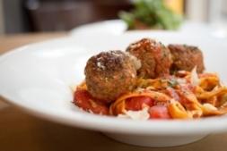 Enjoy the classics like spaghetti with meatballs at Tavolo in Tulsa.