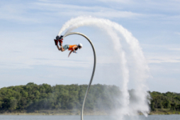 Enjoy high-flying adventure at Water Wings of Texoma in Madill.