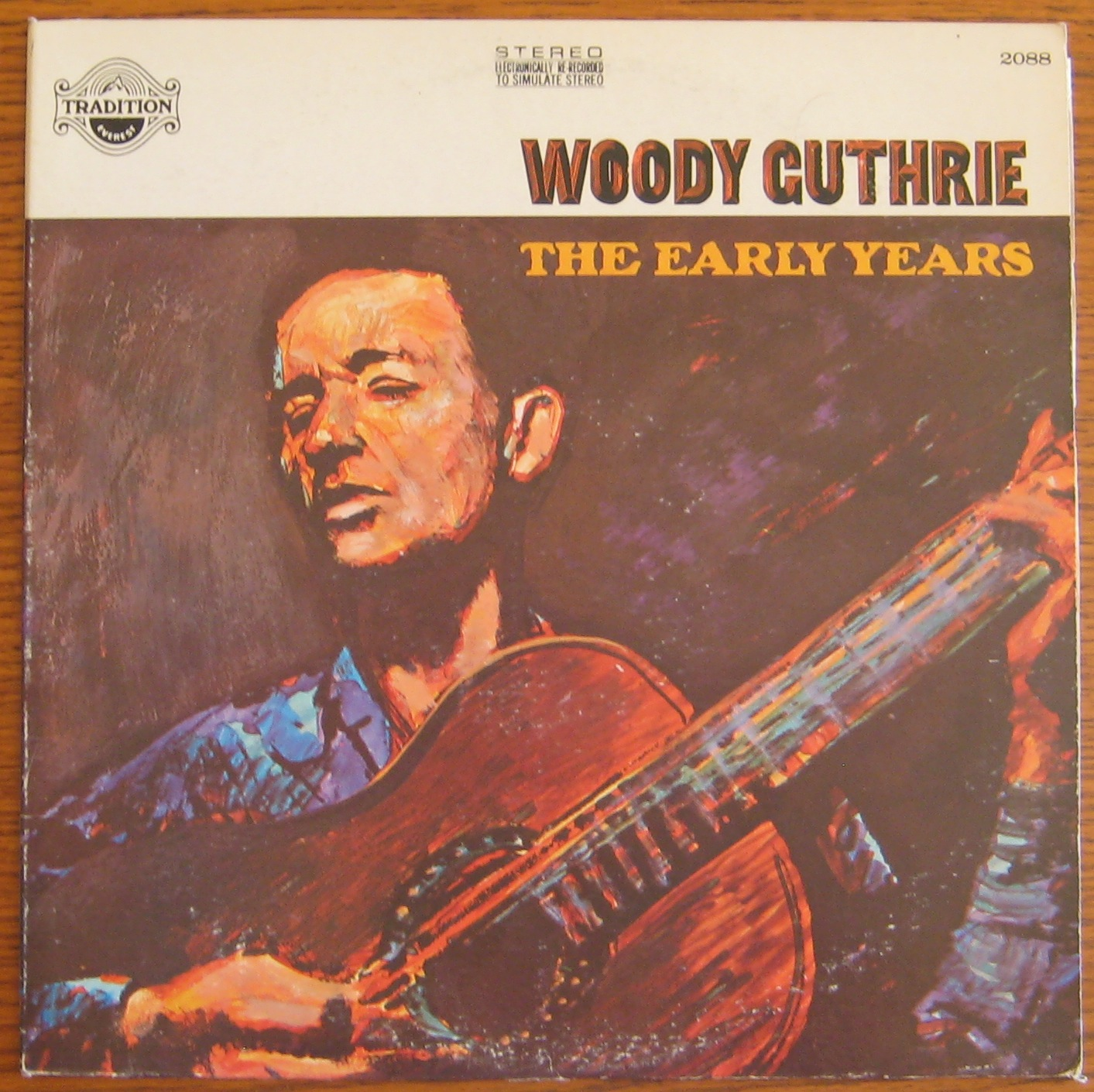 Woody Guthrie - The Early Years