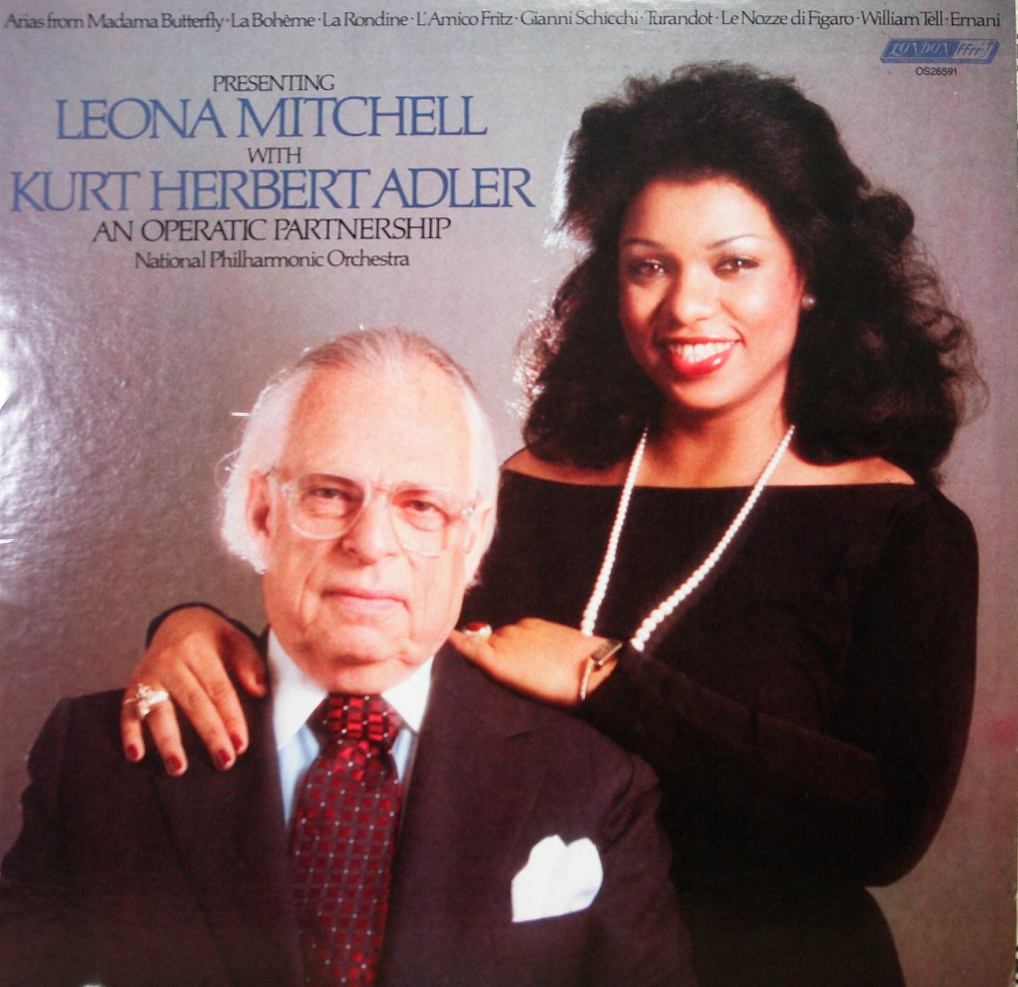 Presenting: Leona Mitchell with Kurt Herbert Adler: An Operatic Partnership