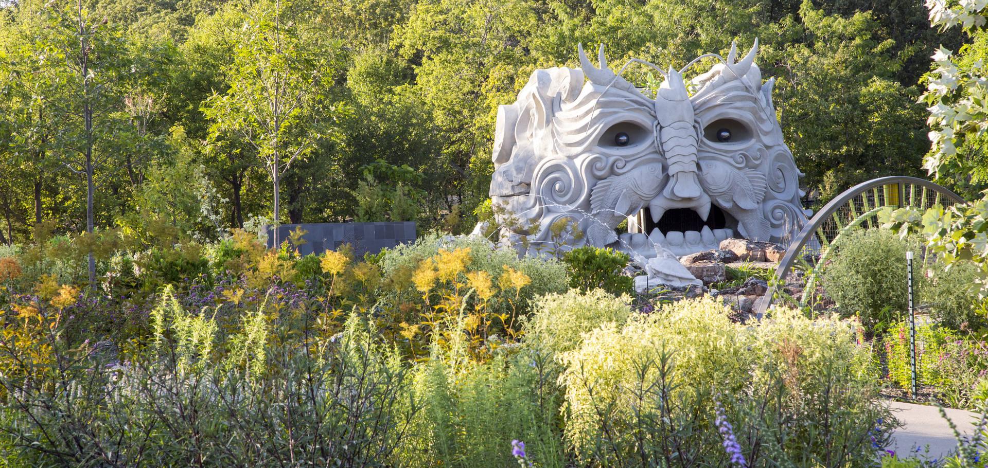 Beau Tulsa Botanic Garden