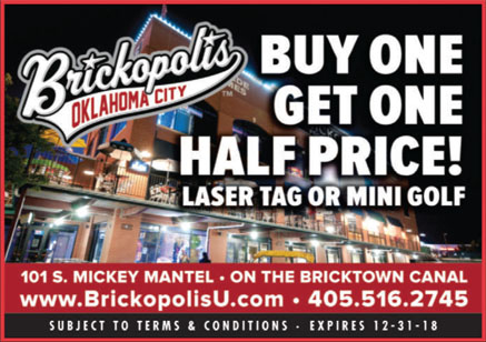 Buy One, Get One Half Price - Laser Tag or Mini Golf""