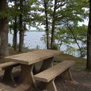 Picnic by the lake at Cherokee Park-Grandview.