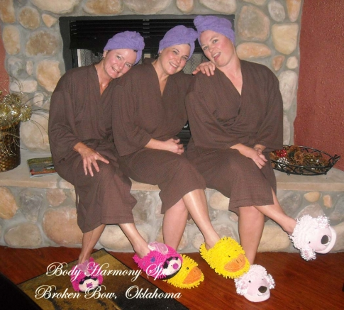 """Gals """"Just For Me"""" Day at Body Harmony Day Spa"""""""