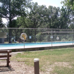 Honey Creek Area's swmming pool.