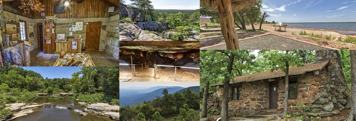 Alabaster Caverns State Park 360 Views