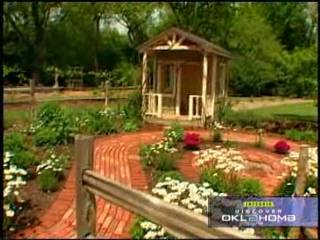 The OSU Botanical Gardens Serve As The Set For A TV Show.